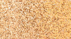 Gold texture glitter background Stock Footage