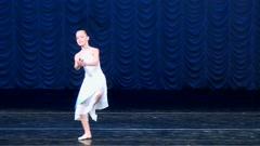 Young ballerina dancing ballet. Arkistovideo