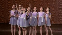 Girls memes, action pantomime. Stock Footage