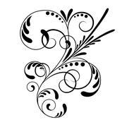 Element of ornament - stock illustration