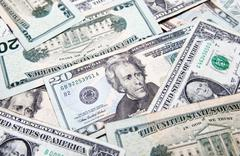 American dollars background / USD background texture Kuvituskuvat
