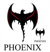 Black Phoenix with the Axe Wings Piirros