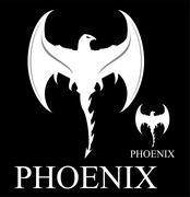 White Phoenix with the Axe Wings Piirros