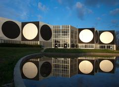 Vasarely foundation in Aix-en-Provence, France - stock photo