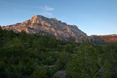 Mont Sainte Victoire in Provence, France Stock Photos