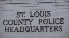 St. Louis County Law Enforcement , Headquarters Stock Footage