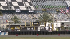2015 Daytona 200 Sprint Fan Zone Stock Footage