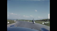 Italy Moped Follow - stock footage
