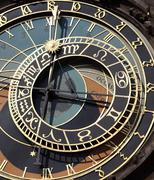 Old astronomical clock in Prague, Czech Republic Stock Photos
