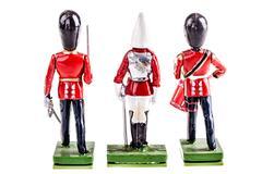 Tin british guards Stock Photos