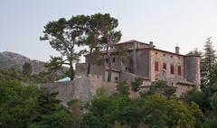 Chateau of Vauvenargues - Pablo Picasso's residence in Provence, Stock Photos