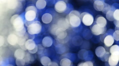 Magic lights rotations Stock Footage