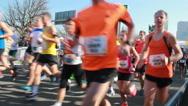 Stock Video Footage of Half Marathon of The Hague