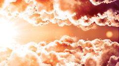 Glorious Passing Clouds Stock Footage