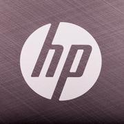 HP symbol - stock photo