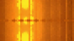 Orange Cubes motion background, seamless looping Stock Footage