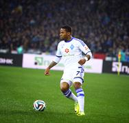 Jeremain Lens of FC Dynamo Kyiv - stock photo