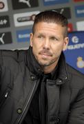 Diego Simeone manager of Atletico Madrid - stock photo