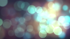 Particle019 bokeh background Stock Footage