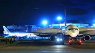 Stock Video Footage of Airport runway timelapse 4K
