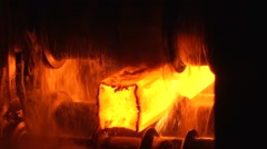 Hot steel Stock Footage