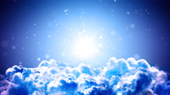 Top of the Clouds Stock Footage