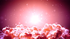 Distant Space Clouds Stock Footage