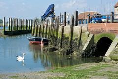 Bosham Quay, Sussex, England Stock Photos