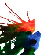 Abstract ink stains Stock Photos