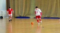 Football players play football. Stock Footage