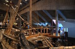 Vasa museum in Stockholm Stock Photos