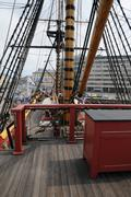 Stock Photo of old and historical boat in the port of Goteborg