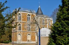 France, the Parc aux Etoiles in Triel sur Seine Stock Photos