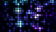 Shiny mosaic abstract background animation disappearing. Stock Footage