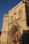 France, collegiate church Saint Agricol in Avignon Stock Photos