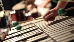 Xylophone player hands Arkistovideo