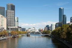 Melbourne, Victoria, Australia - stock photo