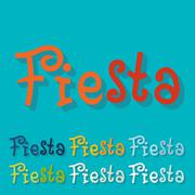 Flat design. fiesta Stock Illustration