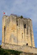 City of Saint Emilion in Aquitaine Stock Photos