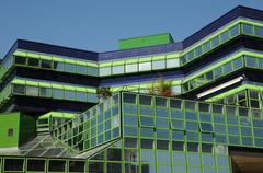 France, hotel d agglomeration in Cergy Pontoise - stock photo