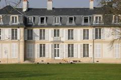 Ile de France, the city hall of Flins - stock photo