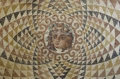 Greece, museum of historical ancient Corinth Stock Photos