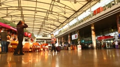 Interior of  Airport Stock Footage