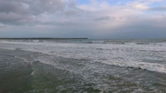 Tramore Beach  Waterford - stock footage