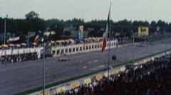 Historical European Auto Racing Stock Footage