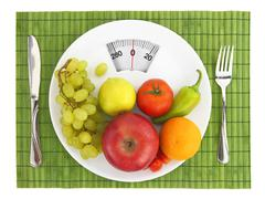 Diet and nutrition Stock Photos