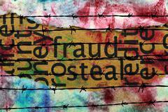 Fraud steal Stock Photos