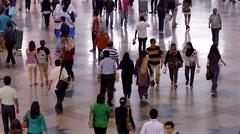 Commuters, timelpase, Kuala Lumpur Stock Footage