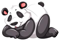Stock Illustration of Adorable panda