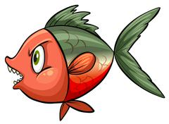 Stock Illustration of Ugly fish